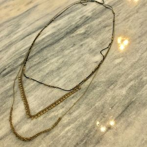 Noonday Collection Gold Necklace - EUC